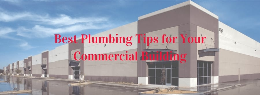 Commercial property plumbing