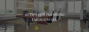 emergency plumbing, plumbing emergencies