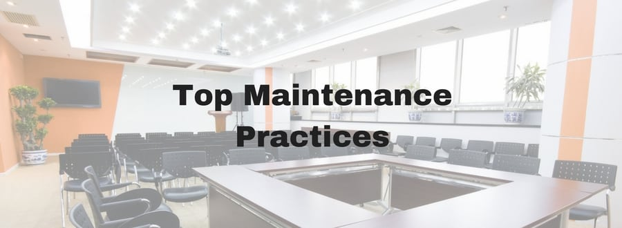 top maintenance practices